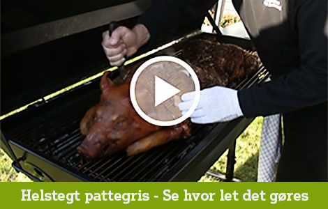 Helstegt Pattegris - GrillSelv video